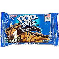 Frosted chocolate chip pop tarts