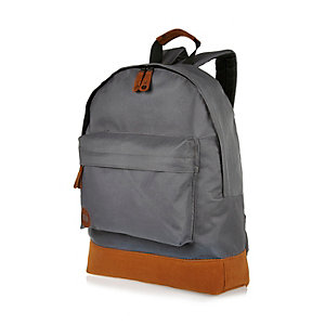 Dark grey Mipac backpack