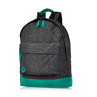 Black Mipac jersey backpack
