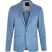 Blue Vito jersey blazer