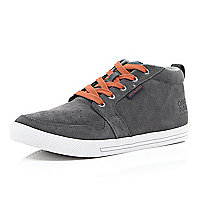 Grey Jack & Jones Vintage casual trainers