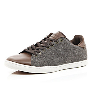 Brown Jack & Jones Vintage casual trainers