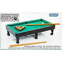 Pool tabletop game