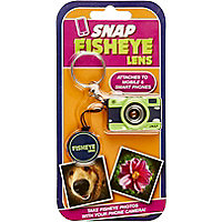 Fish eye camera lens attachment