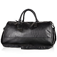 Black large holdall