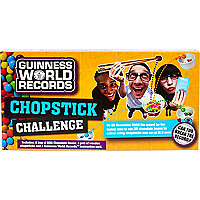 Guiness World Records chop stick challenge
