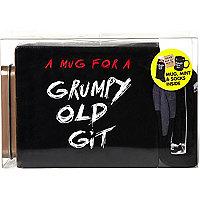 Grumpy old git mug gift set