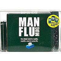 Man flu mug gift set