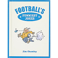 Football's funniest jokes book