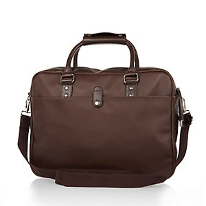 Brown smart work bag