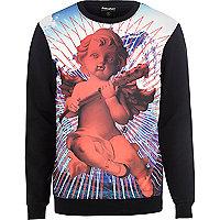 Black Anticulture cherub sweatshirt