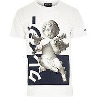 White Anticulture cherub t-shirt