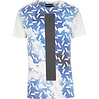 Blue Anticulture cloud print t-shirt