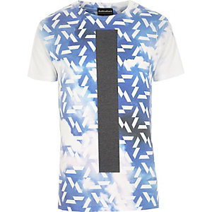 Blue Anticulture cloud print t-shirt
