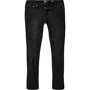 Black wash Eddy skinny stretch jeans