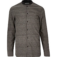 Grey utility baseball shirt