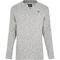 Grey Holloway Road grandad top