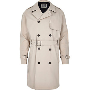 Stone Holloway Road trench coat