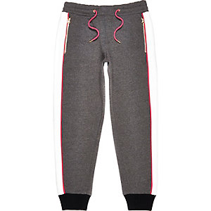 Grey Design Forum panelled joggers