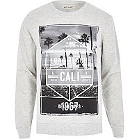 Ecru Long Beach Cali sweatshirt