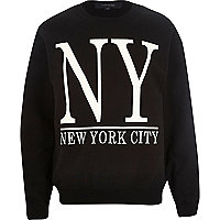 Black New York City sweatshirt