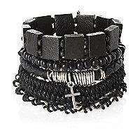 Black bracelet pack