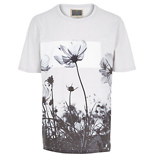 Stone Holloway Road floral print t-shirt