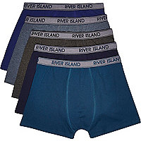 Green RI boxer shorts pack