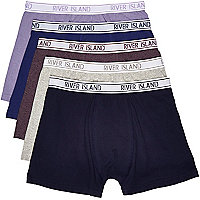 Purple RI boxer shorts pack