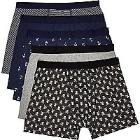 Navy sailor boxer shorts pack