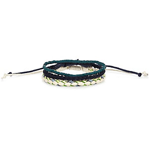 Blue mixed bracelet pack