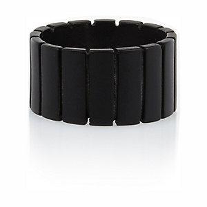 Black matte ring