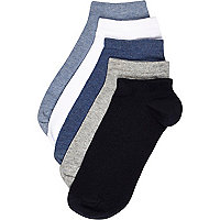 Mixed trainer socks pack