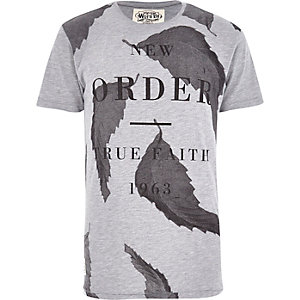 Grey Worn By New Order t-shirt