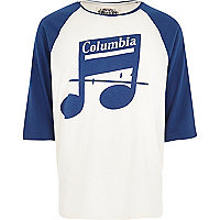 Blue Worn By Columbia Records t-shirt