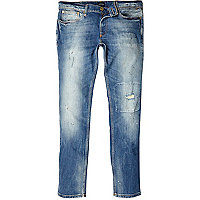 Light wash Eddy skinny stretch jeans