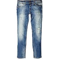 Light wash Eddy skinny stretch jeans