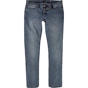 Grey wash Dylan slim jeans