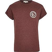 Red San Fran print t-shirt