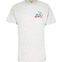 Light grey San Fran print t-shirt