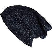 Blue neppy beanie hat