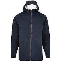 Navy Bellfield windrunner jacket