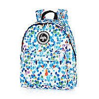 White Hype watercolour backpack
