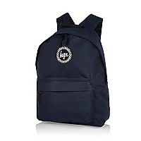 Navy blue Hype backpack