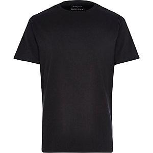 Black premium crew neck t-shirt