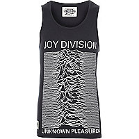 Black Worn By Joy Division vest
