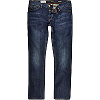 Dark wash Spencer straight jeans