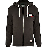 Black Jack & Jones Vintage zip front hoodie