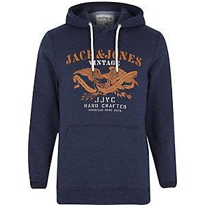 Navy Jack & Jones Vintage hoodie