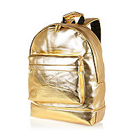 Gold tone Mipac backpack